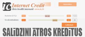 kredītu salīdzināšana